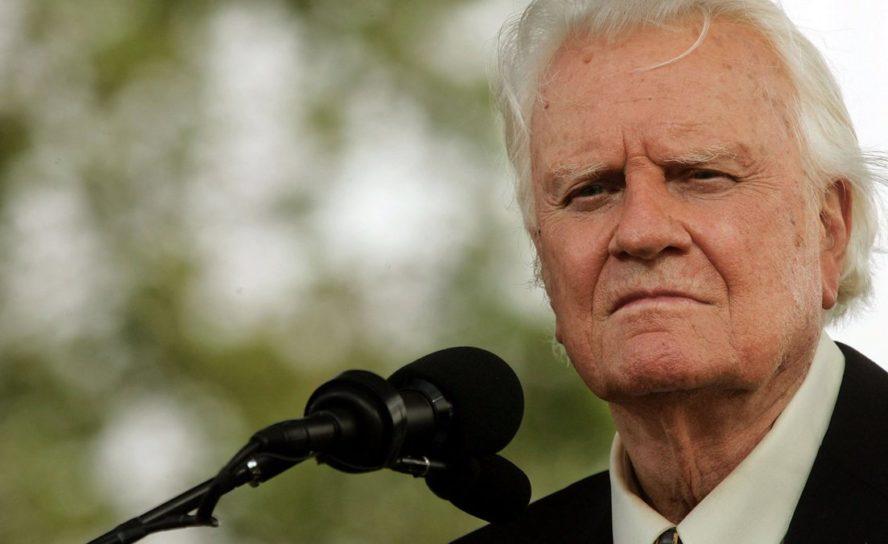 Евангелист Билли Грэм умер в среду утром в возрасте 99 лет