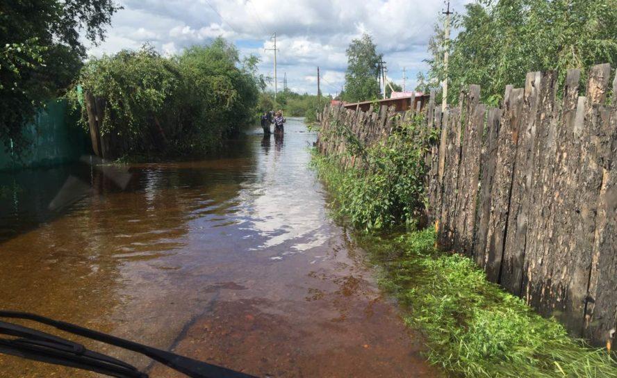 Миссионеры Забайкалья помогли жителям подтопленных районов